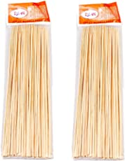 Ezee Wooden Kebab Skewers - 8 Inches (2x90 Pieces)