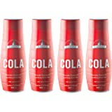 SodaStream Classics Cola Syrup, Pack of 4 Naturally Flavoured Sparkling Drink Mix, Soft Drink Maker No Aspartame - 4 x…