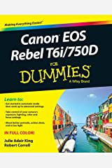 Canon EOS Rebel T6i / 750D For Dummies (For Dummies (Computer/tech)) Paperback