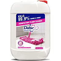 DABUR Sanitize Disinfectant Floor Cleaner with Dirt Trap Technology, Floral Fragrance - 5L