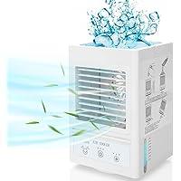 Climatiseur Mobile Silencieux avec 5000mAh Batterie Rechargeable, Mini-Refroidisseur d'Air Personnel à Oscillation 60…