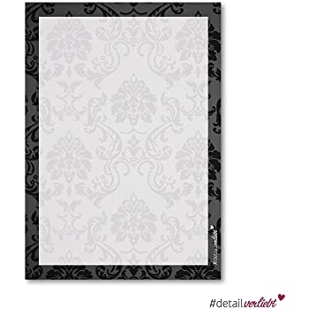1 Set Ornament Motiv Papier I Dv211 I Din A4 I 50 Blatt I Brief