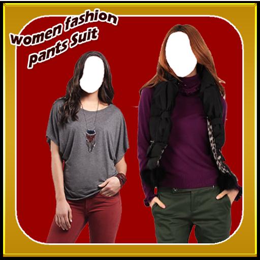 Women Fashion Pants Suit New (Suits Pant Designer)