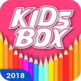 Jumbo Kids Learning Box and Coloring Book