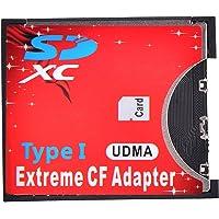 Leagy Adattatore scheda CF SD wireless WiFi, slot SD MMC SDHC SDXC per CF di tipo I, adattatore ad alta velocità per…
