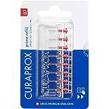 CURAPROX Interdentale borstels CPS 07 prime, 8 stuks, grootte 0,7 mm, voor het reinigen van zeer smalle tussenruimtes tussen