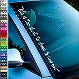 Handynummer Für Frontscheibe Aufkleber Autoaufkleber Sticker Auto Bonus Testaufkleber Estrellina Glückstern Gedruckte Montageanleitung Von Myrockshirt Waschanlagenfest Auto