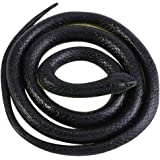 Fictory Realistische rubberen slang, 1 stuk 130 cm lange zachte rubberen slang voor grap, tuinrekwisieten, Halloween-feest