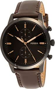 Fossil Homme Chronographe Quartz Montre avec Bracelet