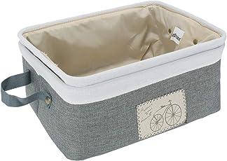 HomeStorie® Foldable Storage Basket Bins Organizer