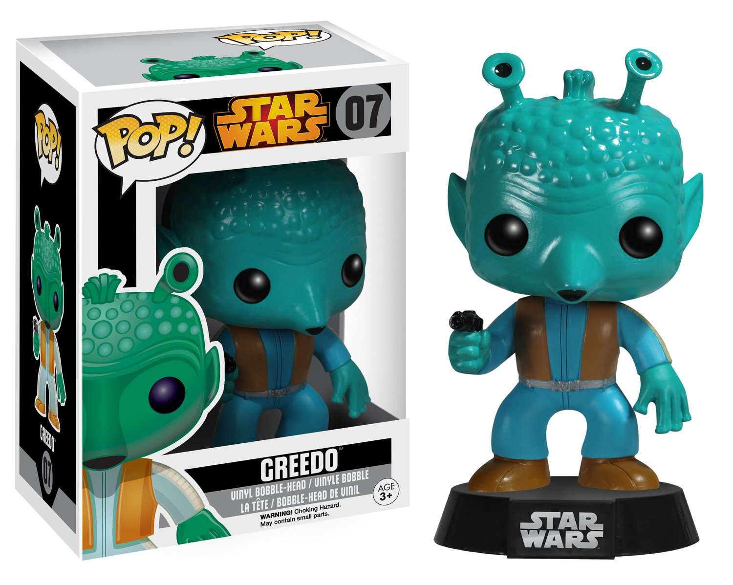 Funko Pop Greedo (Star Wars 07) Funko Pop Star Wars