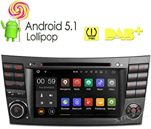 Xtrons 7 Inch Android 5 1 Lollipop Quad Screen Mirroring Function Obd2 Car Stereo Radio Dvd Player For Mercedes Benz E200 220 240 270 280 Navigation Car Hifi