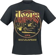 The Doors Warp T-Shirt schwarz