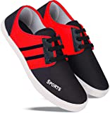 WORLD WEAR FOOTWEAR Men-5011 Red Top Best Rates Casual Shoes, Loafers Shoes, Sports Shoes, Running Shoes for Men Comfortable for Men's