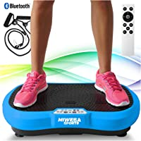 Miweba Sports Fitness 2D Vibrationsplatte MV100-3 Jahre Garantie - 3 multidimensionale Vibrationszonen - Oszillierend…