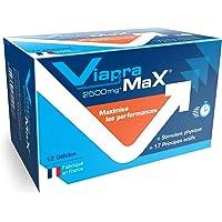 VIAPRAMAX Stimulant extrêmement puissant avec effet immédiat et durable, Endurance, Résistance, Mental - Booster Homme…