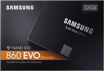 Samsung 860 EVO 500GB 2.5-inch SATA III Internal SSD (MZ-76E500B/AM)