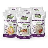 nutristyle Konjak Nudeln, Mischkarton, 10 x 270g, Pasta-Alternative mit nur 6 kcal, ideal für eine kalorienarme Ernährung geeignet - Angebotspreis