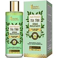 Oriental Botanics Australian Tea Tree Bi-Phase Micellar Water, Removes Makeup & Cleanses No Sls or Alcohol, 150 ml…