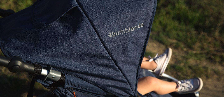 Bumbleride Speed All terrain Jogging Stroller - Dawn Grey Mint Bumbleride  8