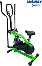 Leeway Orbitrac Elliptical Steel Wheel 2 in 1 Exercise Bike  Orbitrack Dual Action (A387yhgfcde45r)