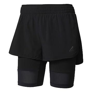 adidas 2 in 1 shorts. adidas women\u0027s 2-in-1 long shorts, womens, long: amazon.co.uk: sports \u0026 outdoors 2 in 1 shorts