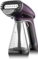 Black+Decker 1500W Handheld Handy Garment Steamer - Purple, HST1500-B5
