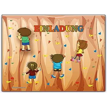 Schön Einladungskarten Kindergeburtstag Klettern Einladung