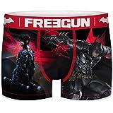 FREEGUN Bóxer para Hombre DC Comics Batman Arkham City