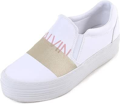 Calvin Klein Jeans Sneaker Bianco/Oro - Primavera Estate