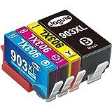 Jagute 903XL Cartouche Remplacement pour HP 903XL 903 XL Cartouche d'encre Compatible avec HP Officejet Pro 6950 6960 6970, H