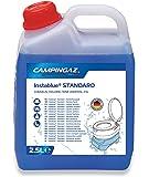Campingaz Instablue Standard 2.5 Liter Sanitärflüssigkeit für Abwassertank der Campingtoilette, Sanitärzusatz für Chemietoilette, Toilettenzusatz Wohnmobil