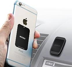 Wuteku Dash Flat Handy Halterung - Hexadymium 6 Magnete Telefone wie Samsung S8 & S8 Plus, IPhone 7 und 7 Plus, 6S und 6S Plus, Galaxy S8 und S8 Plus, Galaxy S7 und S7 Edge. - Top bewertet von Uber ...