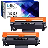 LxTek TN2420 TN2410 Compatible para Brother TN-2420 TN-2410 Cartuchos de Tóner para Brother MFC-L2710DW HL-L2310D HL-L2350DW