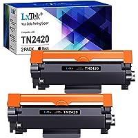 LxTek TN2420 TN2410 Compatible pour Brother TN-2420 TN-2410 Cartouche de Toner pour Brother MFC-L2710DW HL-L2350DW DCP…