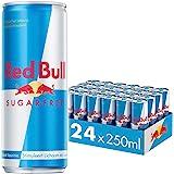 Red Bull Energy Drink, Sugarfree, 250ML (24-pack) 6,40 kg, uit Oostenrijk