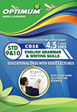 Optimum Educators Cbse English Grammar & Writing Skills Std 9 & 10 Educational DVDs