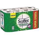 Scottex Keukenpapier Megarollen 8 stuks, Wit