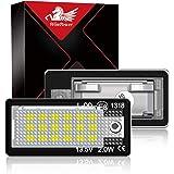 WinPower Kennzeichenbeleuchtung Glühbirnen Nummernschildbeleuchtung SMD mit CanBus Fehlerfrei 6000K Kaltweiß Super hell…