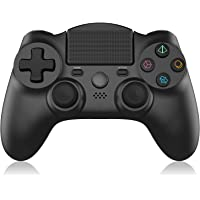 Wireless Controller für PS4,OCDAY Game Controller Gamepad mit Dual Vibration Touchpanel-Spielbrett Rechargable Remote…