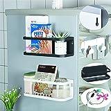 Etagère Réfrigérateur,Étagère Réfrigérateur Magnétique,Distributeur Pimenter Étagère à Épices Magnétique Étagère de Rangement