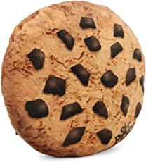Oh My Pop Pop! Cookies-Pillow Cushion (Large) Reisekissen, 37 cm, Braun (Brown)