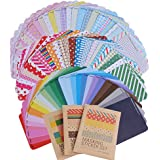 (Pack 81 hojas) Etiquetas Adhesivas Pegatina Papel Scrapbooking Engomada Decoración Sticker Masking Tape Calendario Album de