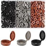 Rybtd 240 stuks scharnierende schroefdoppen 3 kleuren Plastic Scharnierende Schroef Cover Caps voor Nummer 6 en 8 Schroeven v