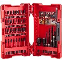 Milwaukee 4932430908 Shockwave Set di Punte per Trapano/cacciavite, Colore Rosso, 40 Pezzi, 0 V, Red