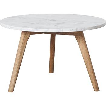 Zuiver 2300008 White Stone Table Base L/50 x 50 x 32 cm