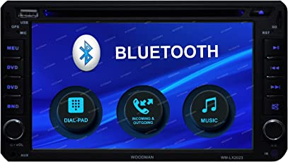 Woodman WM-LX2023 Double-Din Car Stereo (Black)