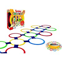 FunBlast Twister Hopscotch Active Indoor Play with Rings Game for Kids, Educational Colorful Rings Game for Kids…