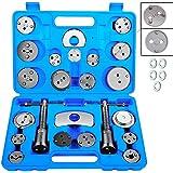 JOMAFA - Reposicionador de pistones de frenos 24 + 5 piezas retractor (para reposicionar el pistón de freno al cambiar los di