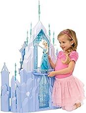 Mattel Disney Princess CMG65 - Modepuppen und Zubehör - Die Eiskönigin Elsas Eispalast